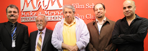 سخنرانی بزرگان تئاتر ایران در مراسم افتتاح کانون فیلم در تورنتو