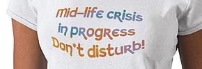 بحران نیمه راه زندگی