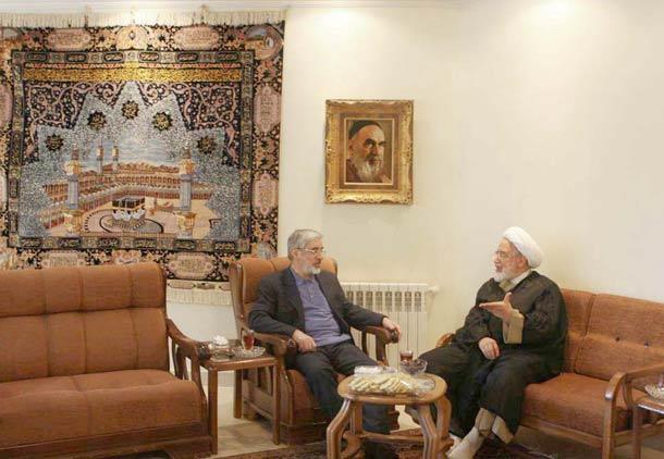 کروبی، موسوی را نصیحت کرد/ میرزاتقی خان
