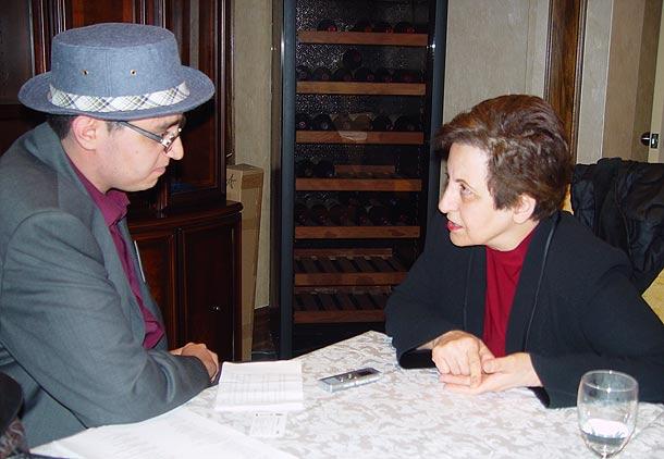 مصاحبه شهروند با شیرین عبادی، برنده جایزه صلح نوبل ۲۰۰۳