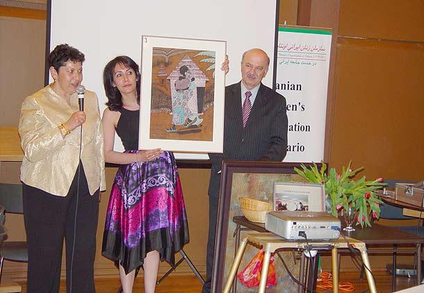 جشن بزرگ همیاری سازمان زنان ایرانی انتاریو