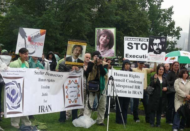 ایرانیان تورنتو در سالگرد ۲۲ خرداد