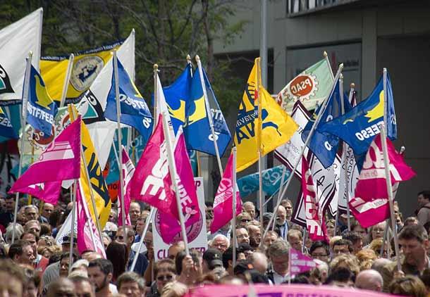 کنگره کار کانادا، همراه سرمایه داران علیه کارگران