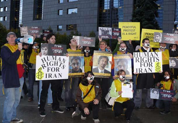 عفو بین الملل ـ تورنتو: زندانیان سیاسی را آزاد کنید