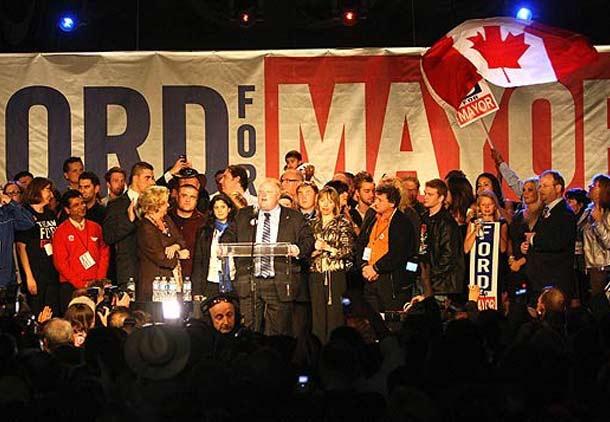 راب فورد، شهردار جدید تورنتو