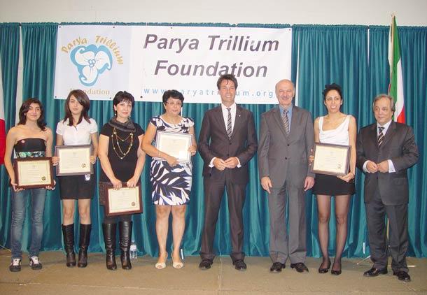 مراسم تقدیر از داوطلبان پریا