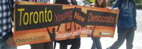 پیروزی چپ در انتخابات سازمان جوانان ان.دی.پی انتاریو