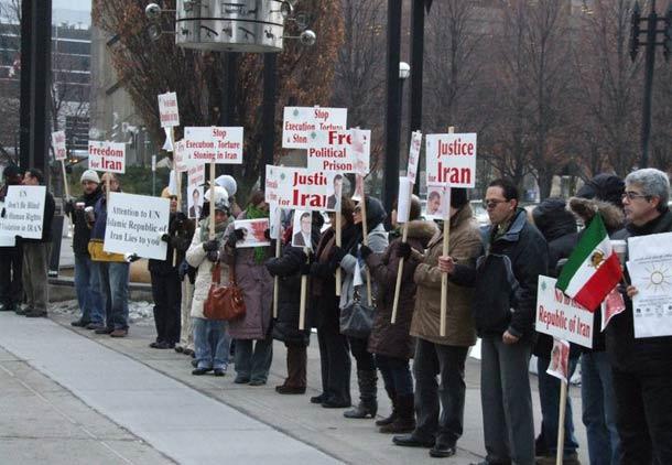 اعتراض به اعدام ها در سراسر جهان