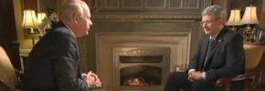 گفت وگو با استفن هارپر، نخست وزیر کانادا