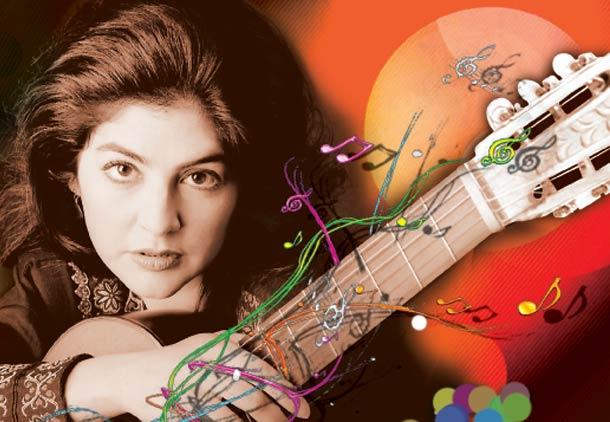 لی لی افشار؛ ایستاده بر قله ی بهترین های گیتار کلاسیک جهان/ آرش عزیزی
