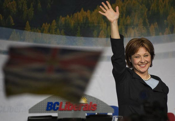 رهبر جدید لیبرالها، نخست وزیر جدید بریتیش کلمبیا