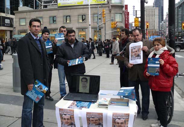 کمپین ارسال کارت تبریک سال نو به سعید متین پور در زندان اوین