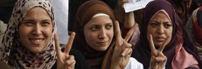 نقش کلیدی زنان در انقلاب مصر/ ترجمه: آرش عزیزی