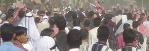 یک شهروند عرب در تظاهرات حمیدیه جان باخت