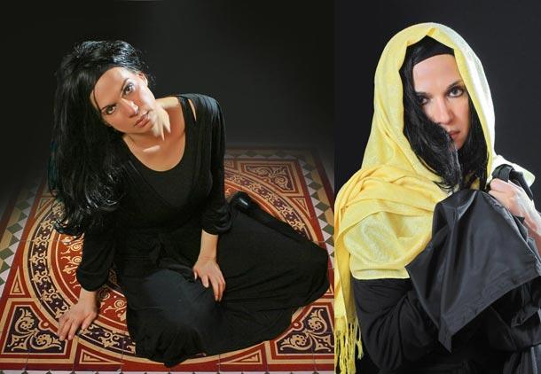 """گلوریا یزدانی، نویسنده، کارگردان و بازیگر """"طنین ترانه های آزادی زن"""": می خواهم فرهنگ سازی کنم"""