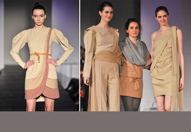گلناز آشتیانی برنده جایزه اول مسابقه طراحی لباس تورنتو