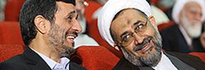قهر و آشتی احمدی نژاد/میرزا تقی خان