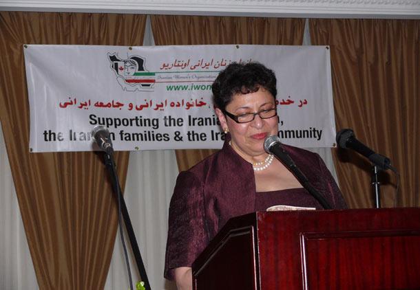 دومین جشن حامیان سازمان زنان ایرانی انتاریو/ فرح طاهری