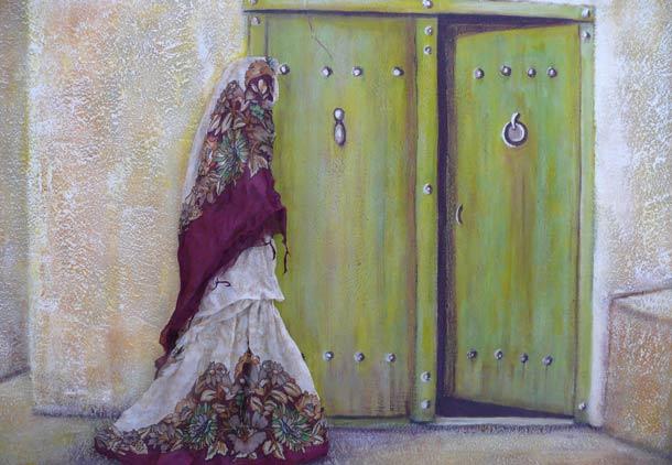 زن، زمین، نور/نمایشگاه نقاشی های ناهید مرندی
