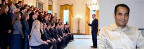 دیدار با رئیس جمهور آمریکا تجربه جالبی بود