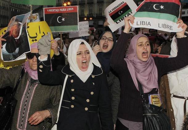 سی هزار کشته در انقلاب لیبی، برای آزادی چندهمسری؟!/ نازنین سام