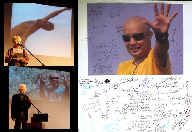 ایرانیان تورنتو برای مجید بهرامی پیام امید فرستادند