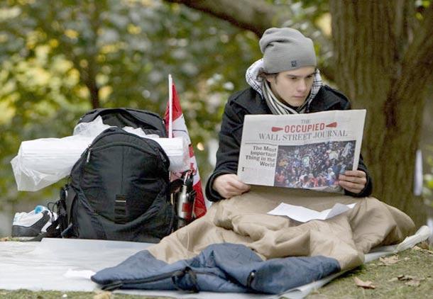 جنبش اشغال تورنتو ادامه دارد/ آرش عزیزی
