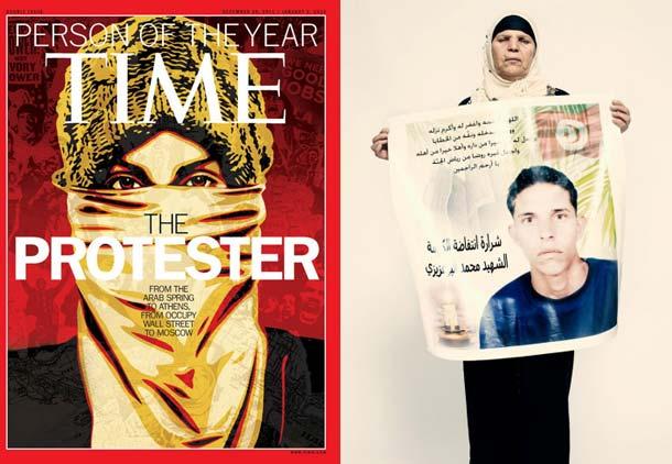 شخصیت سال ۲۰۱۱ مجله تایم: معترض