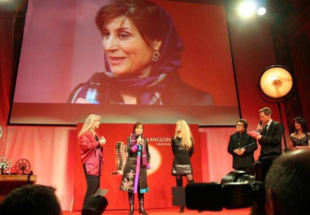 جایزه هانری لانگ لوا برای فاطمه معتمدآریا