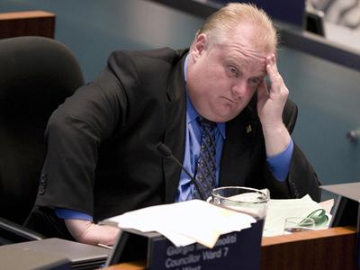 راب فورد شهردار تورنتو