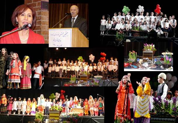 بیستمین سال برگزاری جشن نوروز مدرسه فارسی در تورنتو