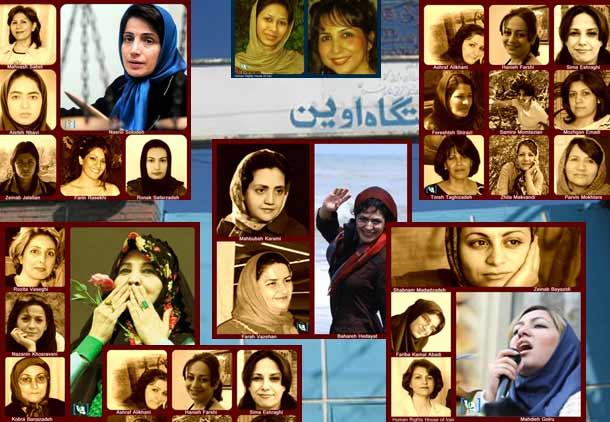 روز جهانی زن؛ ۳۴ زندانی زن با ۲۰۸ سال زندان و ۱۴ زن در بازداشت