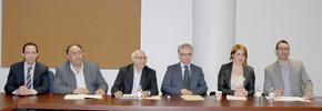 کنفرانس مطبوعاتی درباره اقدامات اعتراضی به آگهی سازمان یهودیان