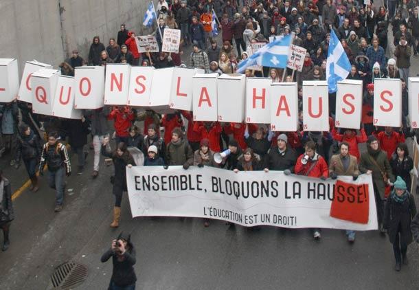 اعتصاب ۱۸۰ هزار دانشجو، بزرگترین تظاهرات تاریخ کانادا