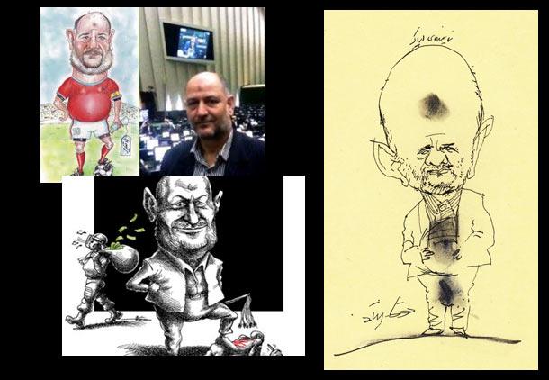 شلاق برای کشیدن کاریکاتور نماینده مجلس