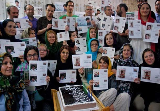 جشن تولد برای آزادگان دربند، ستارگان خرداد