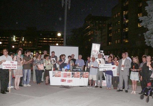 گرامیداشت خاطره مبارزان ایران زمین در تورنتو