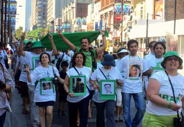 بزرگداشت سومین سالگرد جنبش مردم ایران در تورنتو