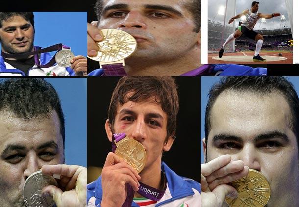 درخشش بی نظیر ورزشکاران ایران در المپیک