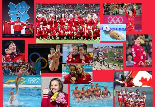 درخشش زنان کانادا در ورزش و المپیک لندن/علی شریفیان