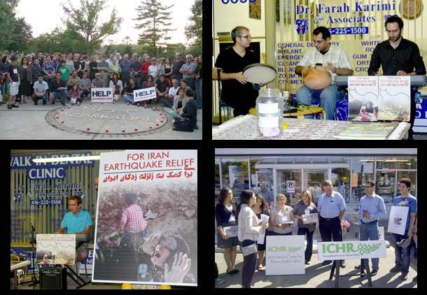 ایرانیان تورنتو در سوگ آذربایجان