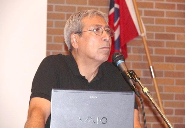 سخنرانی امیرحسین گنج بخش در تورنتو