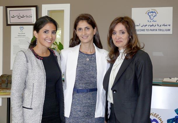 گشایش اولین کلینیک حقوقی رایگان در جامعه ی ایرانی/ فرح طاهری