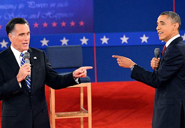 برگزاری دومین مناظره انتخاباتی اوباما و رامنی