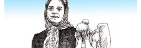 زنی مبارز در زندان جهل و جور/حسن زرهی