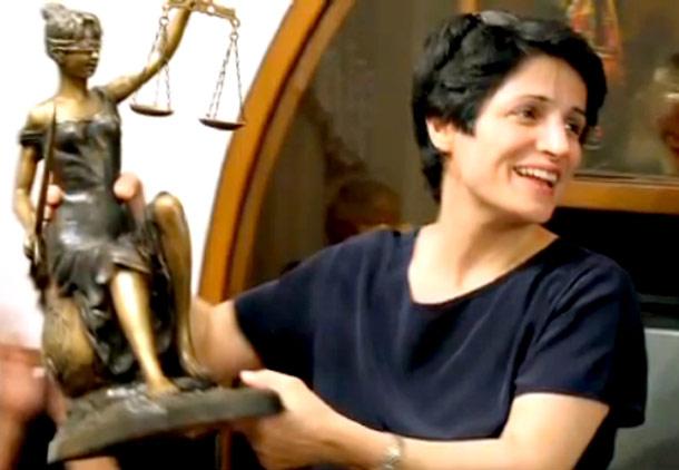 نسرین ستوده نامزد دکترای افتخاری از دانشگاه یورک کانادا