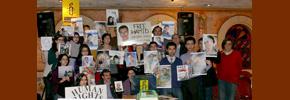 برگزاری تولد ضیا نبوی، دانشجوی زندانی،  در تورنتو