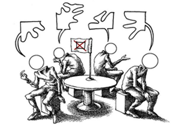 تبادل نظر، قطعی نگری و جزمی اندیشی/ف. م. آزاد