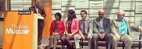 کنفرانس مطبوعاتی رهبر ان دی پی با رسانه های قومی در تورنتو
