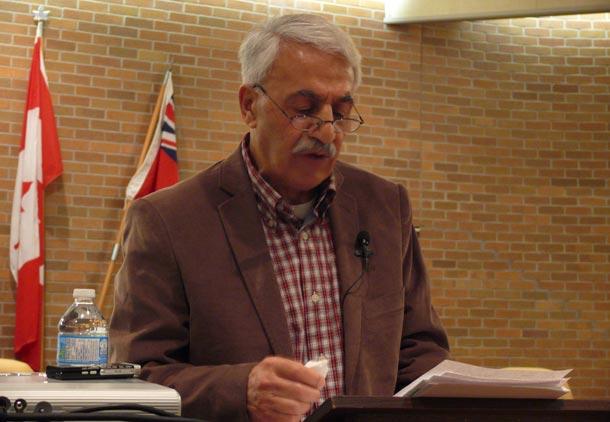 سخنرانی ناصر رحمانی نژاد در کانون کتاب تورنتو
